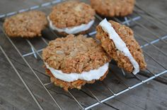 coconut protein cookies (coconut, sunflower seeds, protein powder)