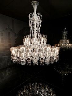 The Zenith 48 Lights by Baccarat http://www.bykoket.com/blog/luxury-lighting-prestigious-baccarat-chandeliers/