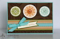 Stampin' UP! Spiced Paisley Herbstnostalgy by First Hand Emotion
