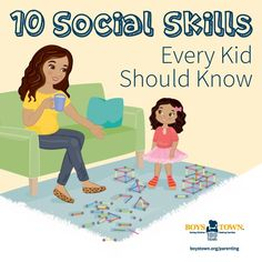Most of us take basic social skills for granted because we learned them when we were young and use them every day. But it's important to teach these skills to children, because they're important to any child's future success in school and life. Whether you're just introducing social skills to your child or you'd like to refresh and fine-tune, Boys Town can help.