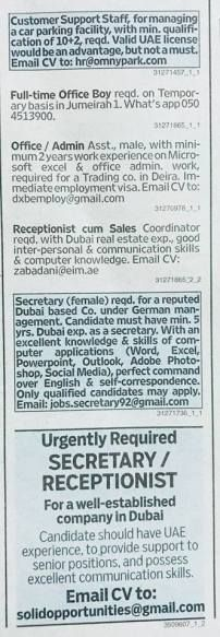 jobs that require a real estate license jobs in dubai » Free Resume ...