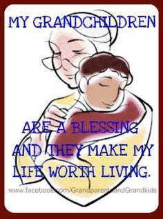 """""""Mis nietos son una bendición y hacen que mi vida valga la pen""""MY GRANDCHILDREN ARE A BLESSING"""