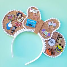 I have come together with 10 amazing small shops to bring you a L. I have come together with 10 amazing small shops to bring you a Loaded Pin Ear GIVEAWAY! One lucky winner will receive… Diy Disney Ears, Disney Mickey Ears, Cute Disney, Walt Disney, Disney Bows, Disney Magic, Mickey Ears Diy, Disney Outfits, Disney Stuff