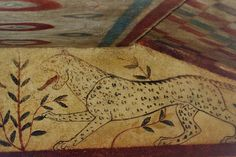 Etruscan tombs, Tarquinia, Italy