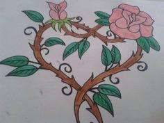 Srdcová růže