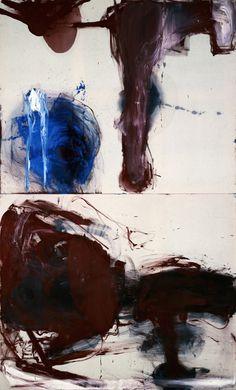 "Julian Schnabel - Birth of Venus (from Mutant King Series) oil on tarpaulin with wax, 72 x 60"", 1981"