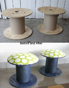 50 Cool Wooden Cable Reel Recycling Ideas - Home Page