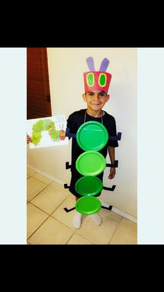 "Book Costume ""The Very Hungry Caterpillar """