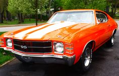 1971 Chevelle, my oh my , my BIG Brother Craig had one just like it! What Memories! Makes me smile! My Dream Car, Dream Cars, Chevy Chevelle Ss, Good Looking Cars, Chevy Girl, American Muscle Cars, Retro Cars, Hot Cars, Classic Cars