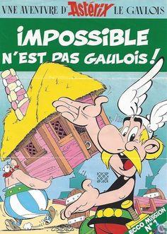 Bandes dessinées - Astérix - Impossible n´est pas Gaulois
