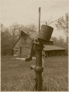 Old Well & Barn