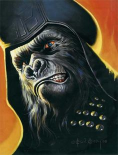 Ursus General / The Planet of the Apes 2008 (Ken Kelly)