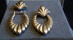 vintage 2 way earrings by NewYorkJunk on Etsy