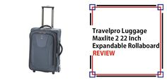 Travelpro Luggage Maxlite 2 22 Inch Expandable Rollaboard Review
