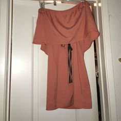 WiNK Mini Tube Dress Never been worn, tags still attached! salmon colored mini tube dress from a boutique in New York called WiNK which has now closed down. Bought for $167 but never wore it. Make me an offer!! Wink Dresses Mini