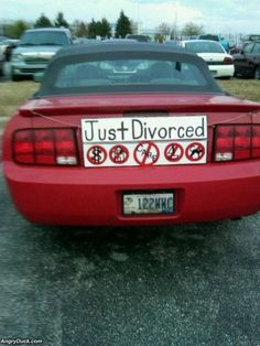 celebrating divorce, lol