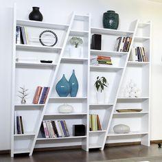 Diagonal shelves