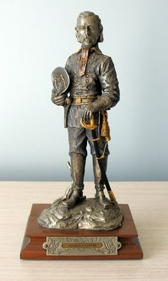 Pewter General George Custer, Francis Barnum For Chilmark