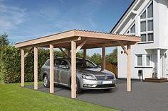 Einzelcarport Erding 1 Carports, Pergola, Outdoor Structures, Formal Gardens, Garden Cottage, Outdoor Pergola