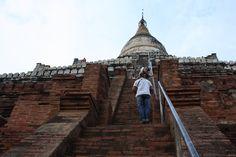 Shwesandaw Pagoda in Bagan Myanmar (Bagan)