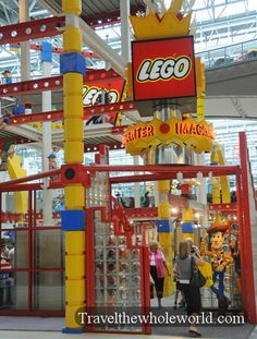 mall of america | Minnesota - Minneapolis - Mall of America - Legos