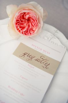 lovely menus by http://www.jessica-haley.com/  Photography by photography-and-more.com