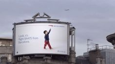 Ad agency taps into your inner child with amazing interactive billboards.