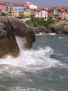 El mar salvaje - Llanes, Asturias