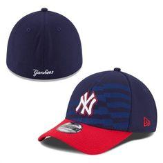 3e70429fc90 New Era New York Yankees Navy Stars   Stripes 4th of July Diamond Era  39THIRTY Flex