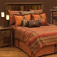 Head to Black Forest Decor now and take advantage of markdowns up to on Luxury Cabin Bedding, such as this Marquise Duvet Covers! Rustic Bedding Sets, Queen Bedding Sets, Duvet Sets, Santa Fe, Southwestern Bedding, Westerns, Bed Ensemble, Wood River, Luxury Cabin