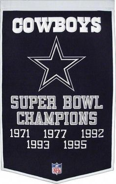 Amazing offer on Winning Streak NFL Dallas Cowboys Dynasty Banner online - Fortrendytoprated Dallas Cowboys Football, Dallas Cowboys Funny, Pittsburgh Steelers, Youth Football Uniforms, Messi Gif, Baseball Live, Baseball Cards, Funny