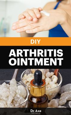DIY Arthritis Ointment with Frankincense, Ginger and Myrrh