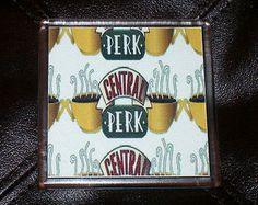 FRIENDS TV Show Central Perk coffee cup mug Coaster