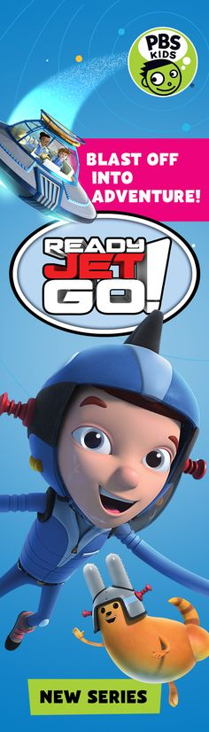 Buckle up for an out-of-this-world adventure with Ready Jet Go! Science and space exploration comes to life in this new PBS KIDS series premiering Monday, February 15. Watch a sneak peek here: http://to.pbs.org/JetKIDS