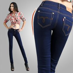 Flexible sexy denim jeans 2014 New arrival Jeans Pencil Style Women's Denim Jeans Slim sexy jeans woman trousers Free Shipping US $25.69