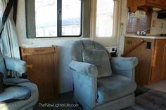 The Big Reveal ~ Remodel Pictures of Our 96 Winnebago Adventurer - The New Lighter Life Rv Interior, Interior Decorating, Small Travel Trailers, Rv Travel, Travel Trailer Remodel, Bunk Rooms, Vintage Rv, Rv Storage, Light Of Life