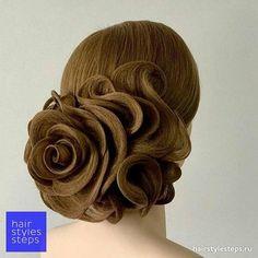 228 отметок «Нравится», 1 комментариев — Hairstyles Steps (@hairstyles_steps) в Instagram: «#beauty #beautiful #beautyblogger #imag #idea #hairstyle #curl #hair #hairstylist #stepbystep…»