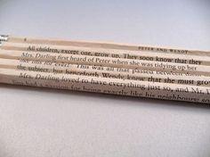 Peter Pan Pencils!