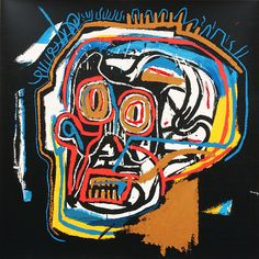 Head - Jean-Michel Basquiat - Prints - Original Prints