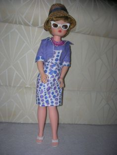 Vintage Deluxe Reading Candy Fashion Doll in her Original Outfit