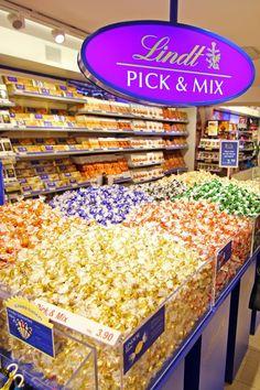 Lindt Pick and Mix at Lindt Factory
