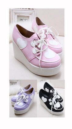 lolita heart platform shoes · MoLa_MoLa · Online Store Powered by Storenvy