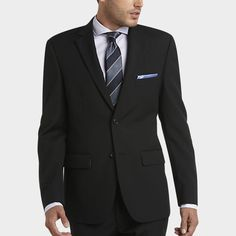 Servant/checkers - 2 for 350?too much?  Pronto Uomo Black Modern Fit Suit - Modern Fit | Men's Wearhouse