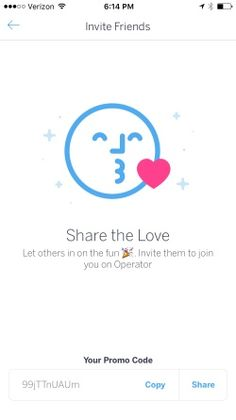 Operator Screenshots