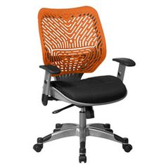 Revv collection ergonomic chair offers a range of adjustments to fit any user and a wide array of attractive color options to add style to any decor.