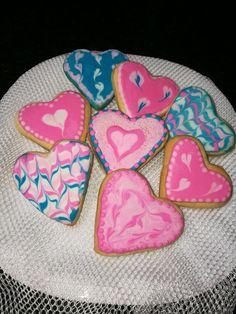 Valentines hearts sugar art_fondant figurine South Africa email: liankaerasmus@gmail.com