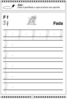 atividades com a letra f para educação infantil turma da monica - Pesquisa Google