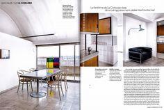 Lampe de Marseille design by Le Corbusier reissued by #nemolighting http://nemolighting.com/products/show/lampe-de-marseille/  Nemo's lamps at Le Corbusier's apartment in Paris. ELLE DECOR FRANCE n° 233 with NEMO and La Fondation Le Corbusier #nemolighting #nemolamps #lecorbusier #elledecorationfr #elledecor — presso 24, rue Nungesser et Coli