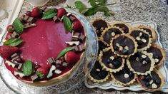 Acai Bowl, Breakfast, Cake, Desserts, Food, Pie Cake, Tailgate Desserts, Pastel, Meal