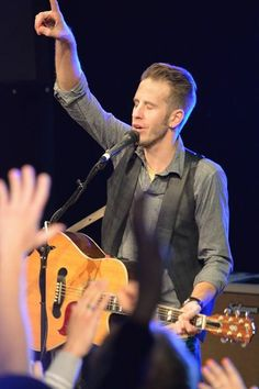 Andy at the Catalyst Youth Conference in Antelope Oregon - January 2015
